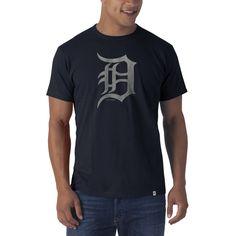 Detroit Tigers Flanker T-Shirt Mens Fall Navy 47 Brand