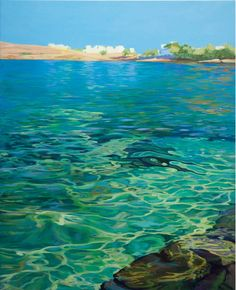 The sea colors takes me to summer. Great paint I love it