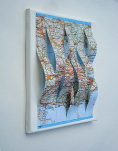London Map Altered by yinsteadofi on Etsy