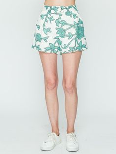Printed Floral Bottoms