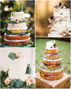 Mariage bohème chic : idées tendances pour wedding cakes