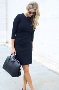 Black office dress