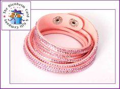 Swarovski Inspired Wrap Bracelet. Iconic wrap bracelets with amazing crystal detail.  Approx 15.5 inches long.  £9.50 plus postage.