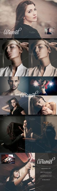 Caramel Action by beto on @creativemarket