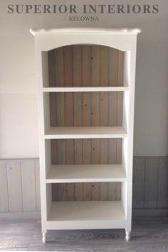 Solid wood custom built maple book shelf