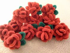 Rose Rings from Wendy the Pipecleaner Lady