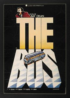 "MP034. ""The Bus"" Movie poster by Iván Zulueta (Bay Okan 1976) / #Movieposter"