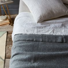 faribault mills for food52 pure & simple wool blankets