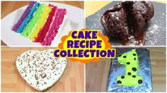 Cake Recipe Collection   Rainbow cake and more ideas   Quick and Easy Recipe   HooplaKidz Recipes