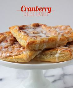 Cranberry Cheese Danish | My Cooking Spot - When Girl Meets Kitchen