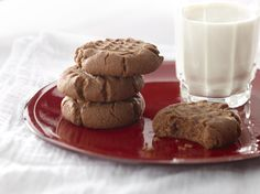 Choc Mint Cookies - These easy to make cookies contain no flour and ...