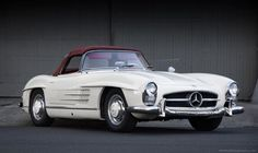 Mercedes 1957 300sl roadster - ready to rally