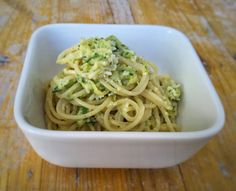 siktwinfood: Spaghetti mit Zucchinicreme