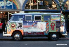 vintage painted vw's | The classic VW bus! - Socialphy