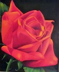 PROYECTO PASO A PASO - Artística MONITOR Flowers For Mom, Plants, Painting, Monitor, Painted Flowers, Red, Paintings, Artists, Projects