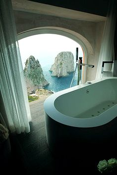Punta Tragara, Luxury Hotel, Italy Beach Resort, Capri, SLH