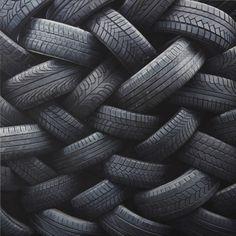 Black | 黒 | Kuro | Nero | Noir | Preto | Ebony | Sable | Onyx | Charcoal | Obsidian | Jet | Raven | Color | Texture | Pattern | Styling | Woven | Tire | Treads