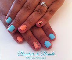 Pink'n'Blue, only for you! #nailart #nails #nailswag #nailsalon #kalamaria #skg #thessaloniki #beautysalon #beauty #naildesign #nailpolish #boudoirdebeaute #boudoir_de_beaute #manicure #nails_greece #nailsoftheday #nailporn #nailaddict #shellac #pink #blue