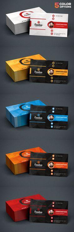 Creative Business Card PSD Bundle Cheap Business Cards, Business Cards Online, Business Card Maker, Printable Business Cards, Business Card Psd, Elegant Business Cards, Custom Business Cards, Professional Business Cards, Business Card Design