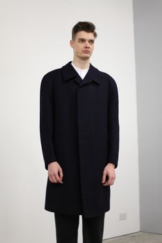 Andrew in Cotton Love M.02, M.04 and 'THE' coat.