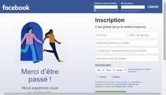Facebook - Connexion ou inscription