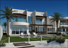 The Wave villa, Muscat, Oman.