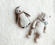 Sweet, soft winter friends ☁️