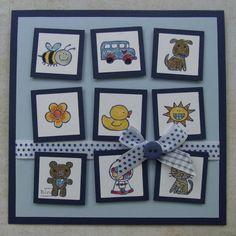 Bines Karten und mehr...: Inchie-Karte zum 1. Geburtstag
