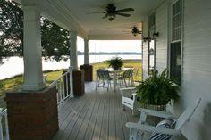 North facing wrap-around porch.