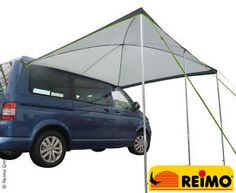 REIMO-PALM-BEACH-2-6m-SWB-Sun-Canopy-Dome-Shaped-Awning-for-VW-T4-T5-T6-FREE-P-amp-P
