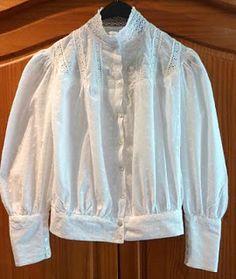 Folkwear Gibson Girl Blouse Costume Diaries