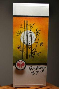 Card Inspiration / bamboo