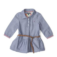 Tommy Hilfiger Chambray Mini Dress - Official Tommy Hilfiger® Store