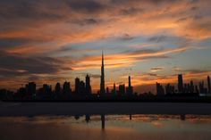 Enjoy the night time and watch the skyscrapers. Dubai Safari, Skyscrapers, Seas, Night Time, Dusk, Skyline, Dessert, Sunset, Watch
