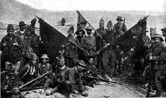 Soldados españoles en la guerra del Rif.