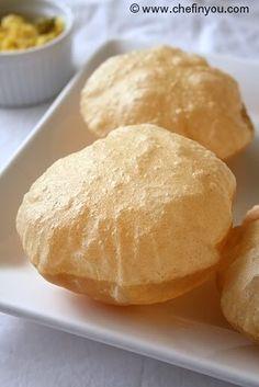 How to make Indian Poori | Puri Recipe (step by step)