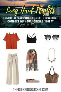 What to Wear on Long Haul Flight to Maximize Comfort Without Looking Sloppy – The Blessing Bucket – travel outfit plane long flights Packing List For Travel, Travel Tips, Packing Tips, Travel Ideas, Vacation Packing, Free Travel, Travel Hacks, Travel Advice, Travel Essentials