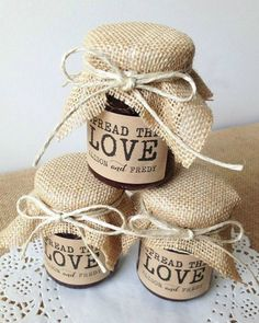 Trendy wedding favors diy useful Wedding Favors And Gifts, Vintage Party Favors, Wedding Favour Jars, Creative Wedding Gifts, Engagement Party Favors, Rustic Wedding Gifts, Diy Wedding Decorations, Engagement Parties, Wedding Ideas