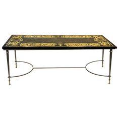 Raymond Subes (attr.) Elegant Coffee Table, France 1940