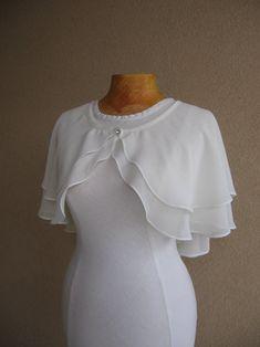 Wedding Cape, Bridal Cape, Ivory Wedding, Cape Designs, Blouse Designs, Bridal Cover Up, Evening Shawls, Cape Dress, Ivory Dresses