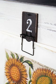 So clever!  Use Mouse traps to hang pictures for your #gallery wall!  via Ella Claire