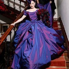 Dita Von Tesse in her Vivienne Westwood dress.