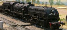 Beyer Garrett Steam Locomotive.