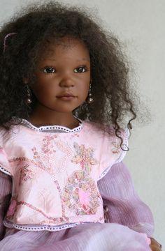 Shanja by Zawieruszynski 2010 American Baby Doll, African American Dolls, African Dolls, Reborn Toddler Dolls, Reborn Dolls, Reborn Babies, Lifelike Dolls, Realistic Dolls, Disney Princess Doll Collection