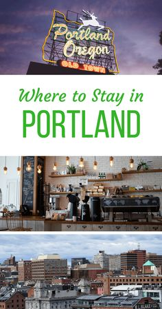 Where to Stay in Portland, Oregon, USA. Best areas to stay in Portland, written by a local. Portland travel guide with recommendations from a local in Portland! via @WanderTooth