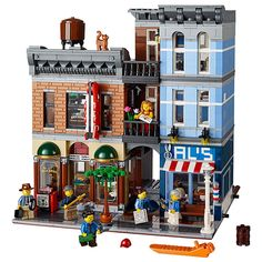 83.88$  Watch now - http://alij0d.worldwells.pw/go.php?t=32723293285 - Toys CHINA BRAND L011 self-locking bricks Compatible with Lego Creator Expert Detective's Office 10246 no original box 83.88$