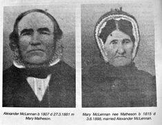 Alexander and Mary McLennan