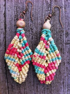 Rasta Leaf Earrings. Love these colors and style. by JleeGypsy, $8.00.
