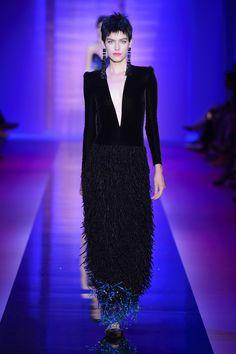 Armani Privé haute couture jesień-zima 2015/2016, fot. Imaxtree