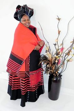 Xhosa Attire, African Attire, African Wear, African Fashion Dresses, African Dress, African Clothes, South African Traditional Dresses, Traditional Wedding Dresses, Traditional Outfits